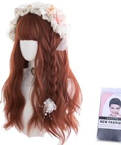 Kawaii Copper Brown Lolita Wigs