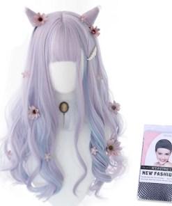 Kawaii Periwinkle & Violet Lolita Wig