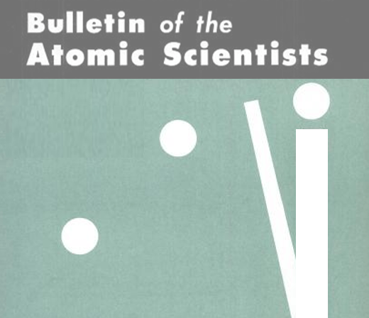 Image result for picture bulletin of atomic scientists
