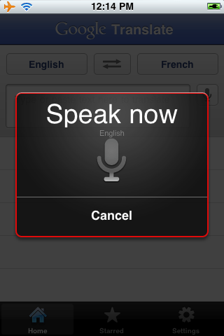 Google Translate for iPhone adds speech synthesis « Kurzweil