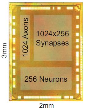 Neurosynaptic core (credit: IBM)