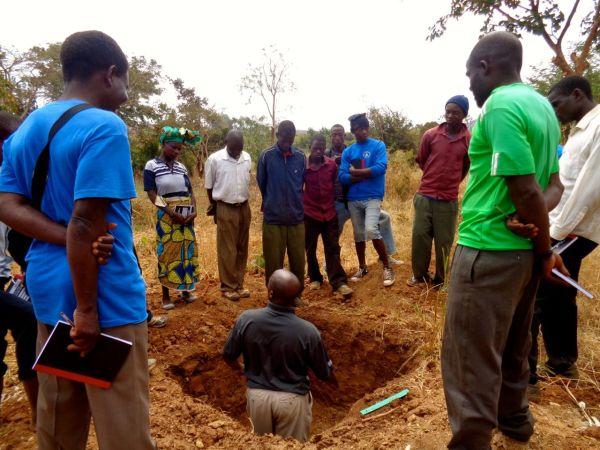Soil Science Education Kicks- In Khundi - Kusamala