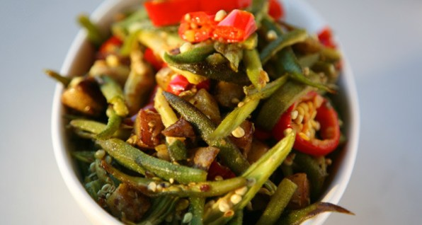 Stir Fried Okra Recipe