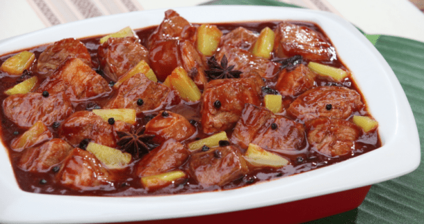 Pork Humba with Pineapple Recipe