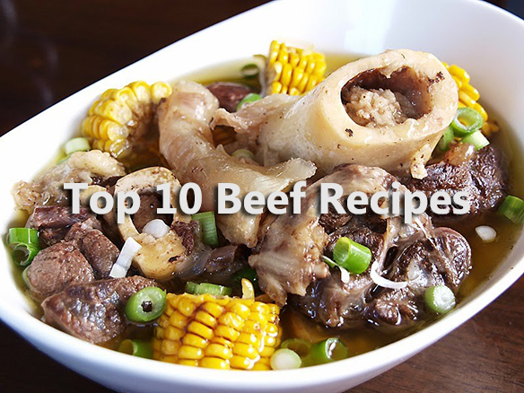 Top 10 Beef Recipes