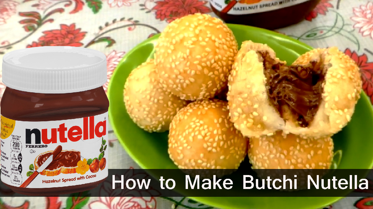 How to Cook Butchi with Nutella