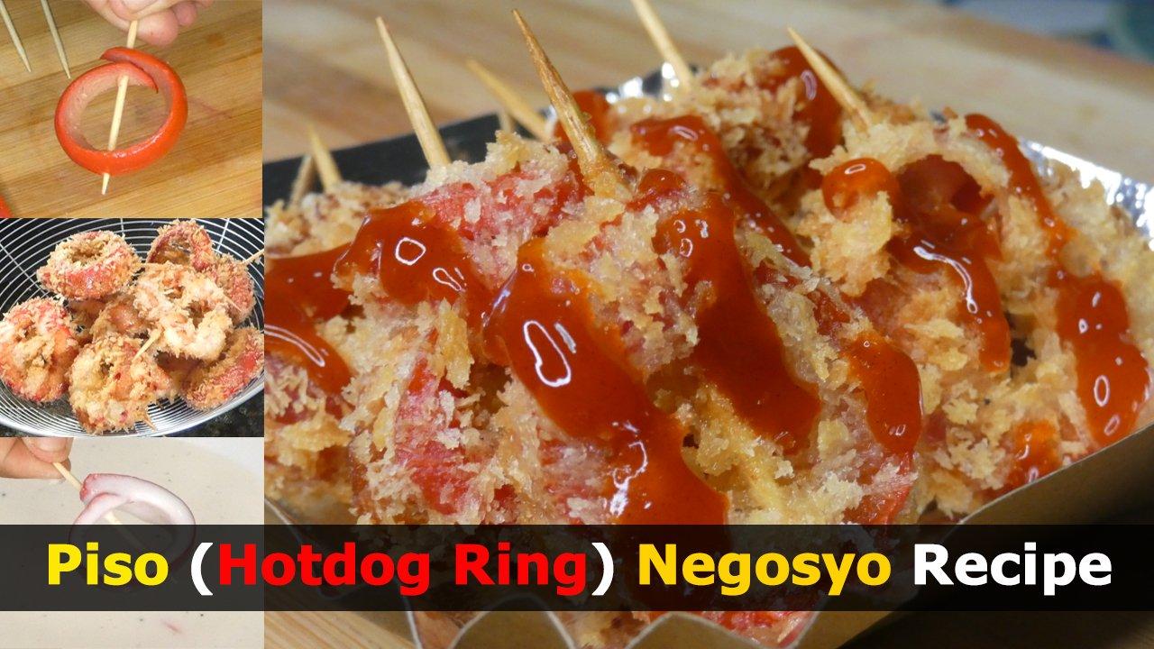 Patok na Piso (Hotdog Ring) Negosyo Recipe