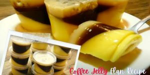 How to Make Coffee Jelly Flan Overload in a CUP