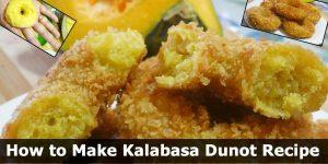 How to Make Kalabasa Dunot Recipe (Healthy Meryenda)