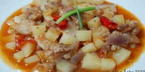 PPT (Pork, Potato And Tomato) Recipe