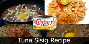 Tuna Sisig Recipe