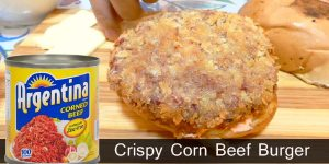 How to Make Crispy Corn Beef Burger / Negosyo Recipe