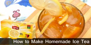 How to Make Homemade Ice Tea / Healthy Drinks