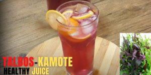 Dahon Ng Kamote Juice / Kamote Tops Juice
