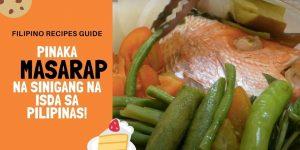 Sinigang na Maya Mayang Isda Recipe