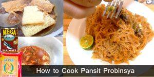 Pansit Probinsya (Pancit Sardines) Recipe