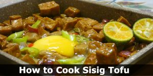 How to Cook Sisig Tofu