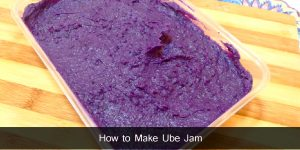 How to Make Ube Jam