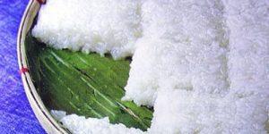 Enkiwar (Rice Cake with Coconut Milk) Recipe