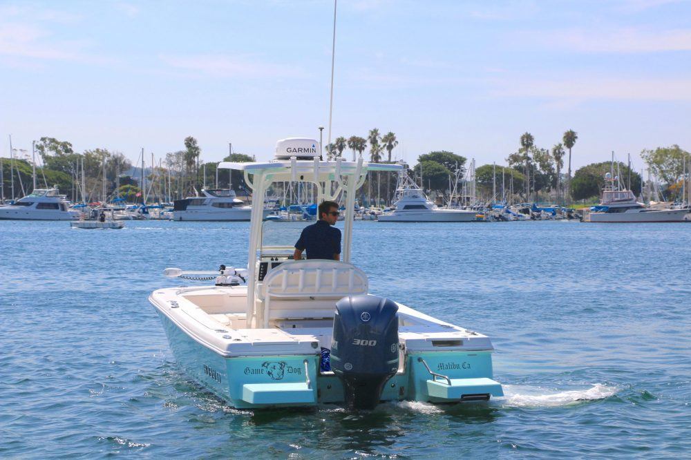 medium resolution of  game dog is a robalo 246 cayman yacht for sale in san diego 2