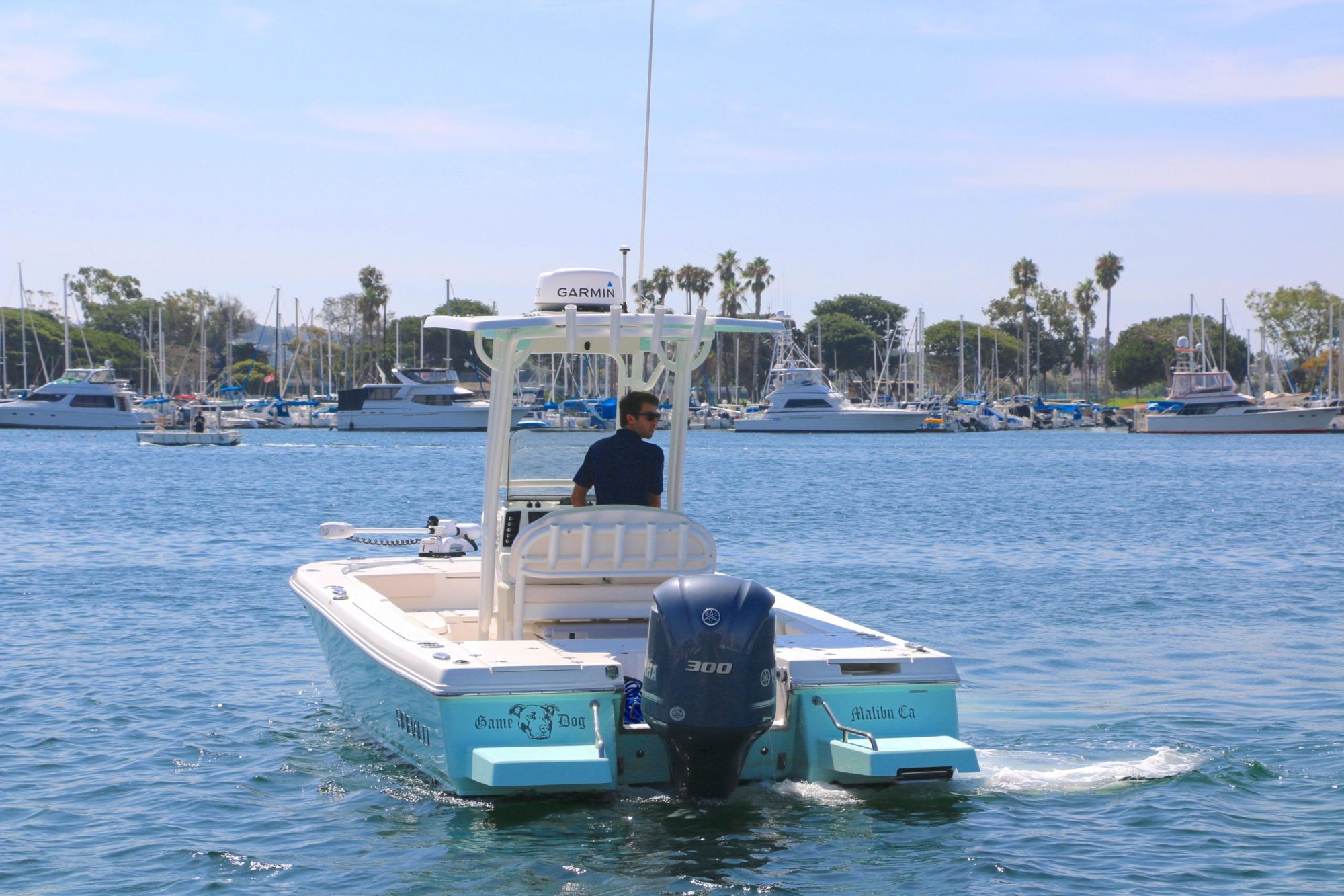hight resolution of  game dog is a robalo 246 cayman yacht for sale in san diego 2
