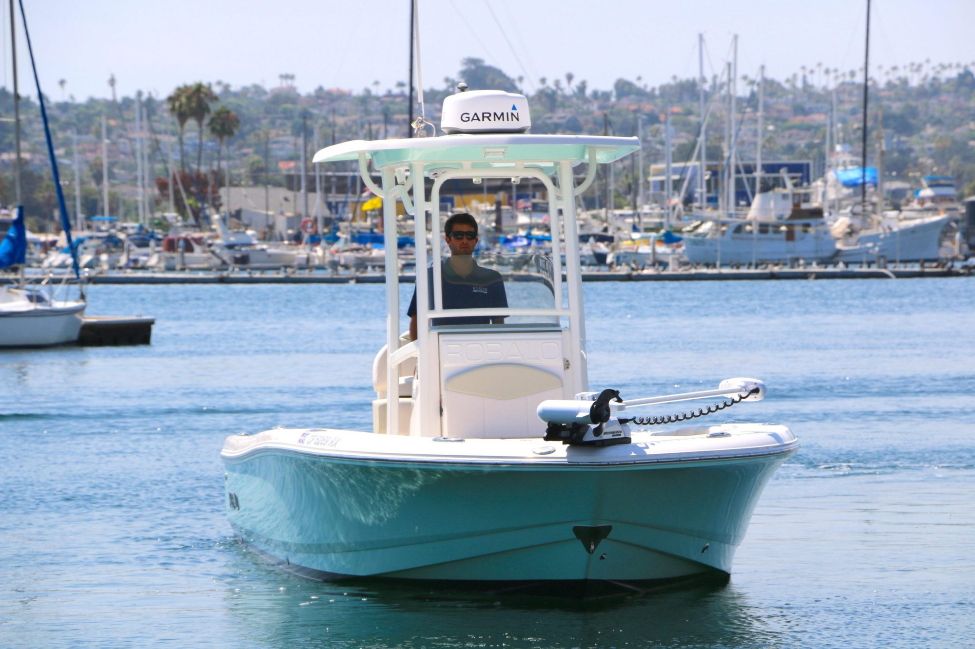 hight resolution of  game dog is a robalo 246 cayman yacht for sale in san diego 1