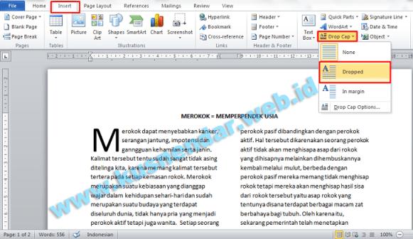 Membuat Format Layout Majalah Koran di Microsoft Word | Kusnendar