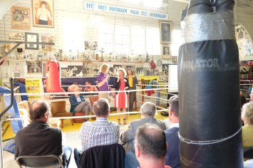 Huldiging sporthelden - Flandria Boxing Club