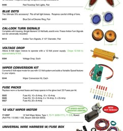 voltage drop wiper conversions kit fuses 12 volt wiper motors universal wire harness for vw volkswagen teardrop tail lights add that  [ 750 x 1050 Pixel ]