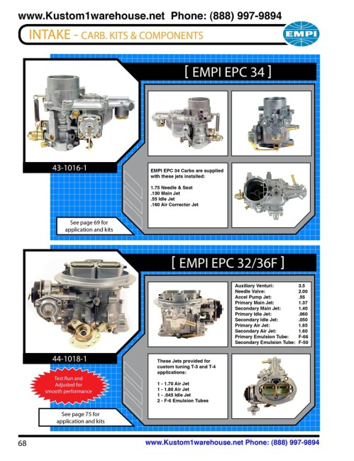 small resolution of  progressive carburetors weber for buggy sandrails baja bug and vw volkswagen type 1 beetle ict 43 1016 1 test run and adjusted for smooth performance