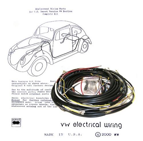 1979 Vw Headlight Switch Wiring Diagram Wiring Works Wiringworks Vw Bug Replacement Wiring