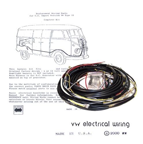 vw type 2 starter motor wiring automotivegarage org rh automotivegarage org 1973 VW Bug Wiring Harness 1973 VW Bug Wiring Harness