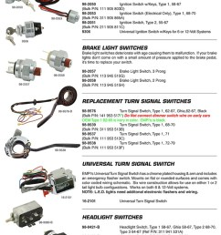 ignition switches brakes light switches turnsignal switches headlight switches for vw volkswagen  [ 750 x 1050 Pixel ]