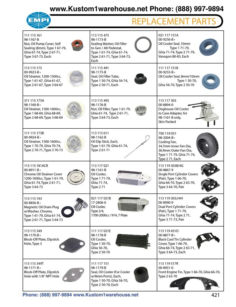 Dune Buggy Wiring Harness Kit Rail