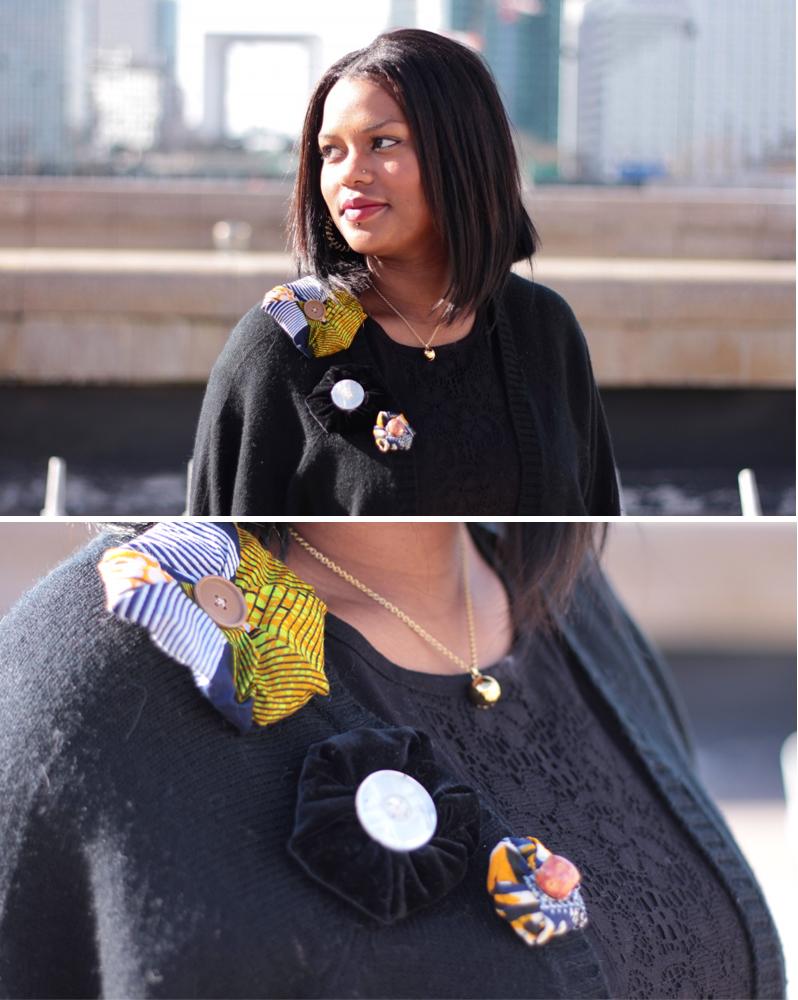 Création de fleurs en tissus pour customiser les hauts | Kustom Couture
