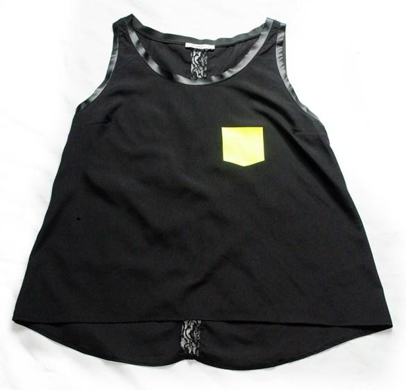 Customiser un haut noir basique | Kustom Couture