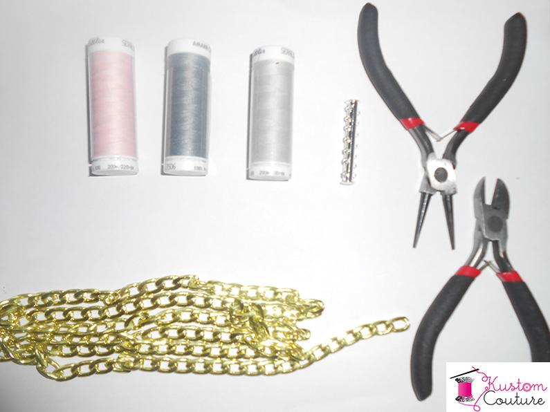 DIY Bracelets en chaînes   Kustom Couture