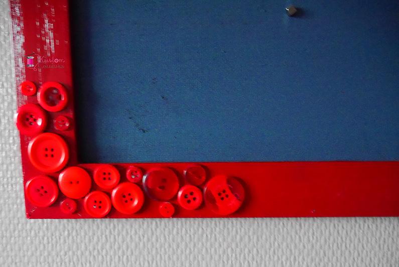 DIY Cadre photos magnétique | Kustom Couture