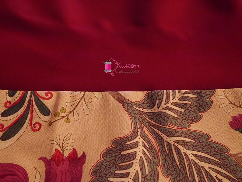 Housses de coussin bi-matière | Kustom Couture