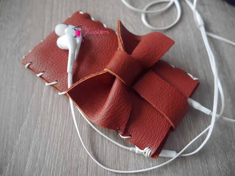 DIY Pochette de smarthphone en cuir | Kustom Couture