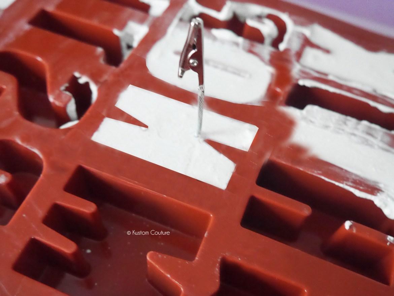 DIY Décoration - Lettres en ciment   Kustom Couture