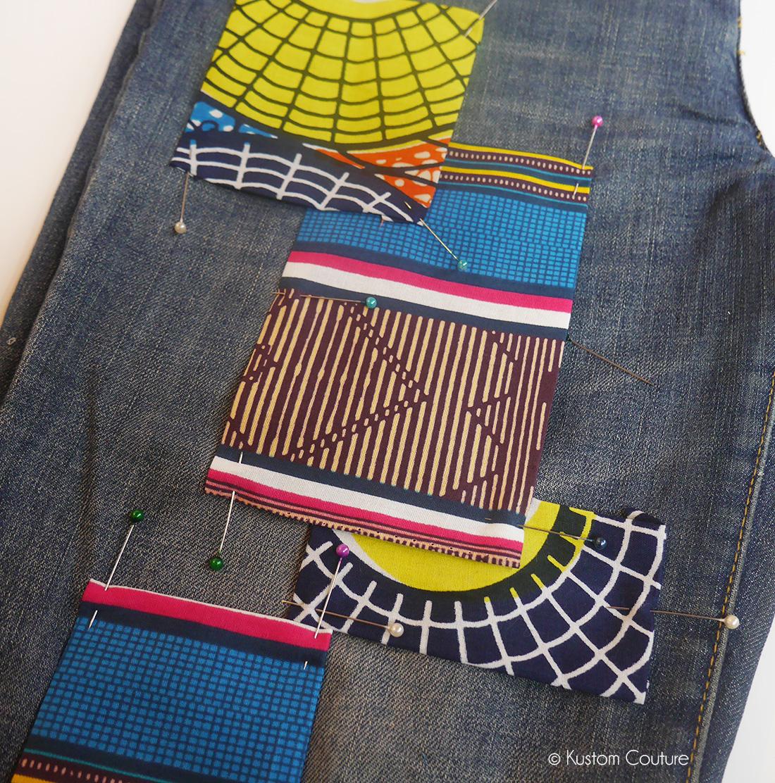Customiser un jean avec un patchwork | Kustom Couture