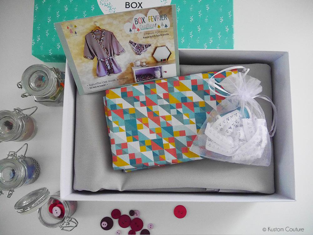 La box Ma Box Craftine à gagner sur Kustom Couture