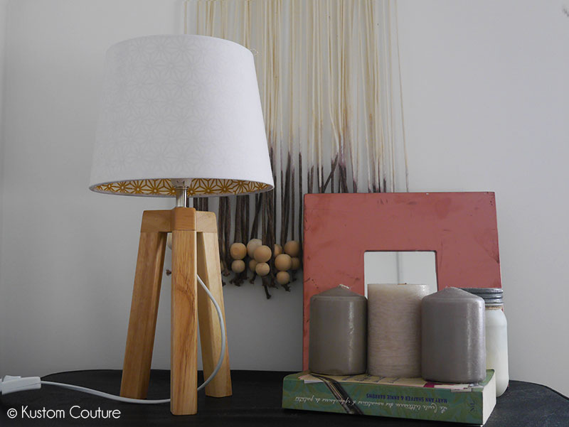 Customisation d'une lampe scandinave | Kustom Couture