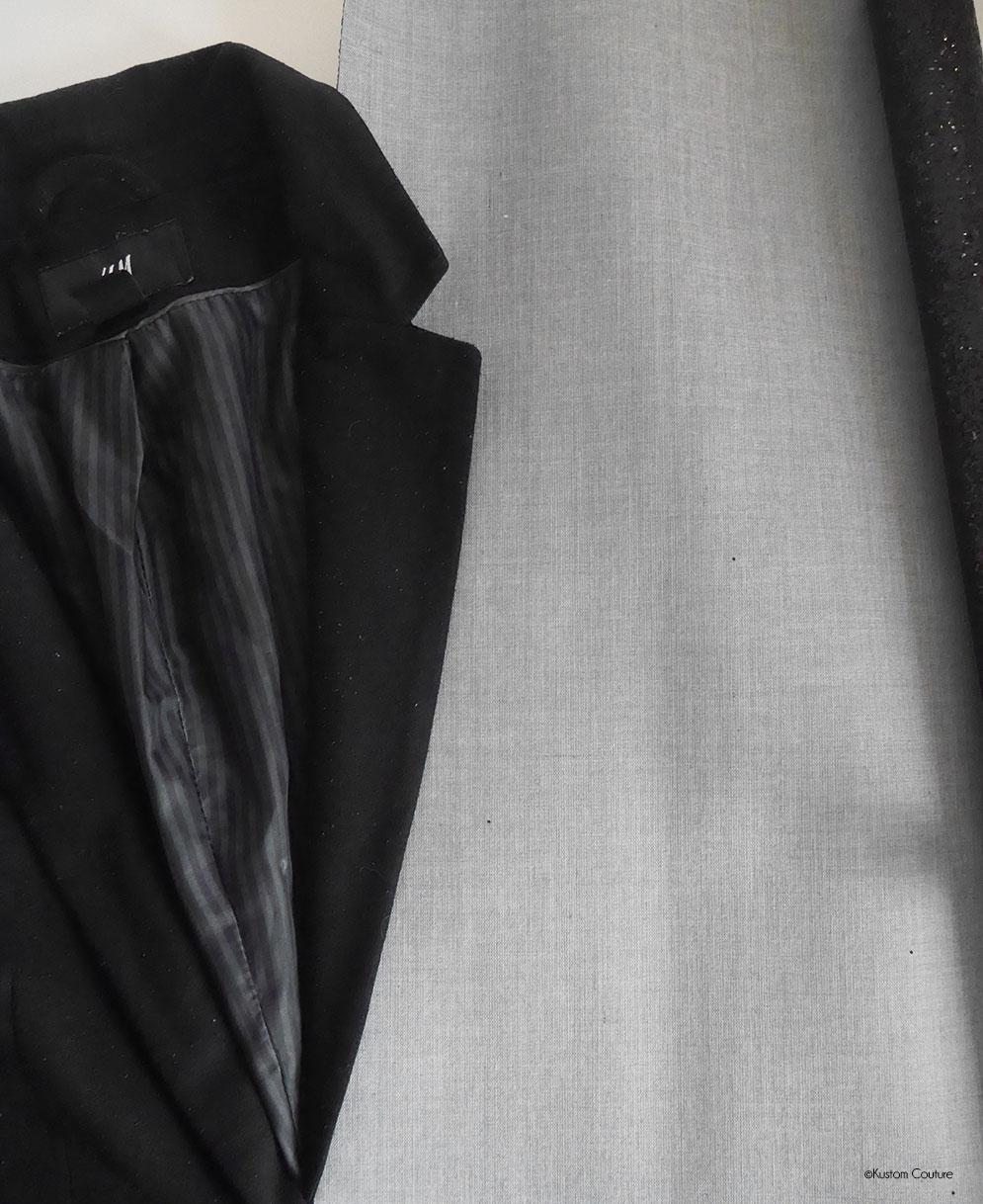 Mode Customiser Veste Blazer Diy Une Des Paillettes Avec 45AjLR