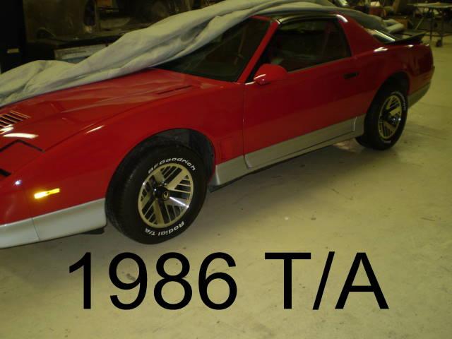 1986 Trans Am Repaint