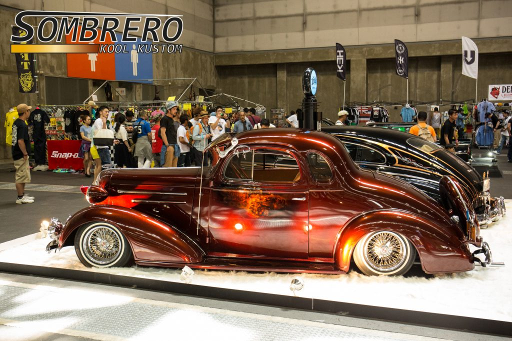 1936 Chevrolet Lowrider Bomb, Dukes Car Club
