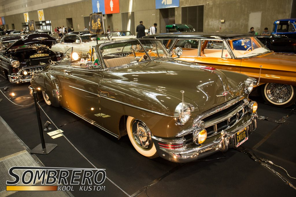 1949 Chevrolet DeLuxe Convertible, Lowrider, Bomb, Chiefs Car Club