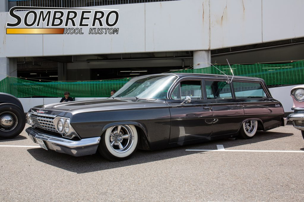 1962 Chevrolet Bel Air Station Wagon, Astro Supremes, Rabbit Ears, Wide Whites