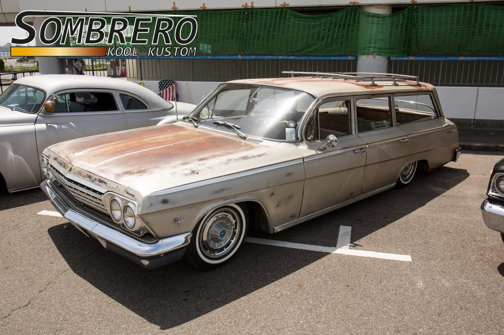1962 Chevrolet Bel Air Station Wagon, Roof Rack, Patina Paint